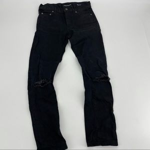Saint Laurent D02 M/SK-LW Black Skinny Jeans Size 27